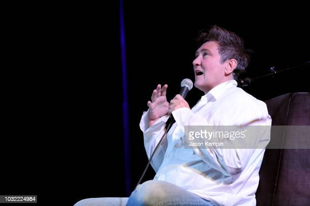 D Lang keynote interview with NPR musics' Ann Powers during the 19th Annual Americana Music Festival Conference at The Westin Nashville on September...