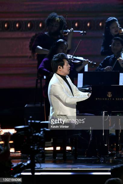 Lang Lang performs onstage during the 62nd Annual GRAMMY Awards at STAPLES Center on January 26 2020 in Los Angeles California