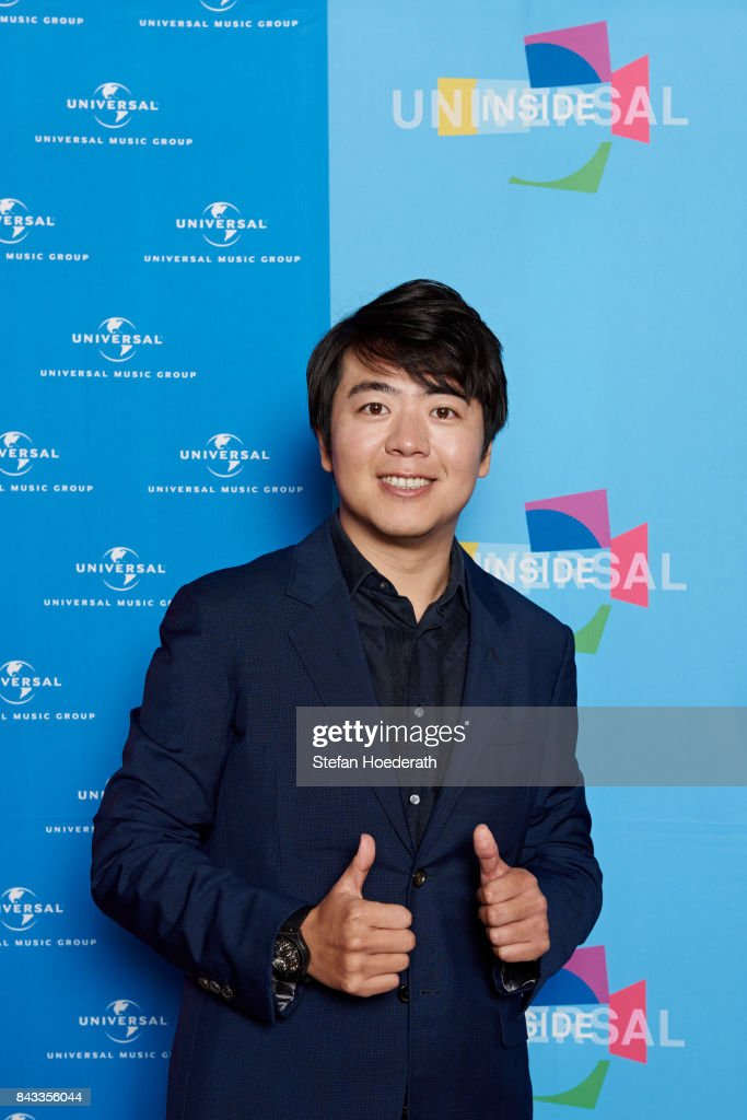 Lang Lang poses for a photo during Universal Inside 2017 organized by Universal Music Group at Mercedes-Benz Arena on September 6, 2017 in Berlin, Germany.