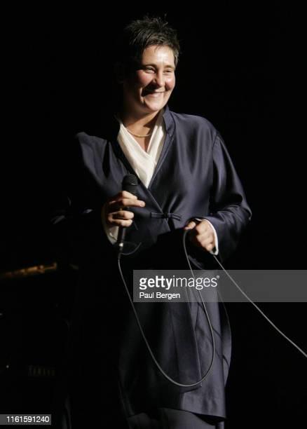 Lang performs on stage Utrecht, Netherlands, 10 November 2004.