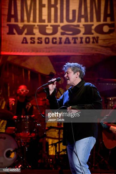 D Lang performs onstage during the 2018 Americana Music Honors and Awards at Ryman Auditorium on September 12 2018 in Nashville Tennessee