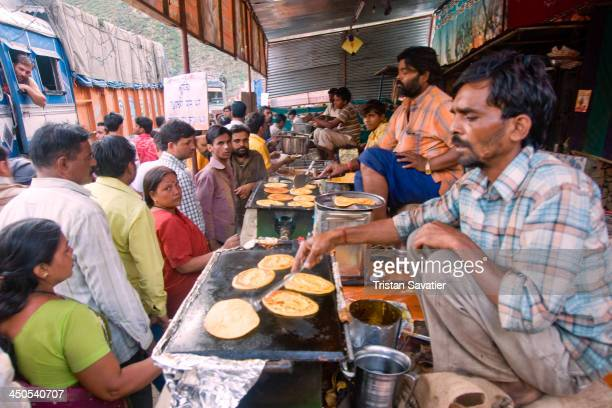 Langar provide free food to the Hindu pilgrims on their way to the Amarnath Cave. Langar manned by Sikh people offer free vegetarian food and Chai to...