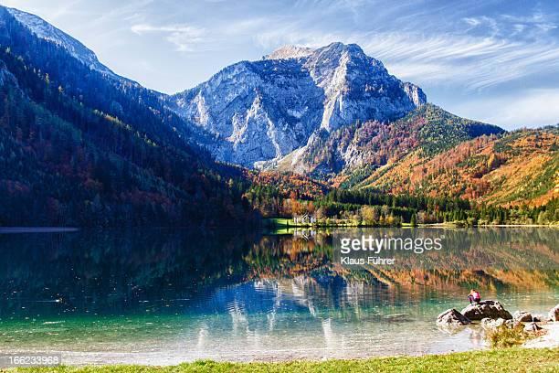Langbathsee in Upper Austria