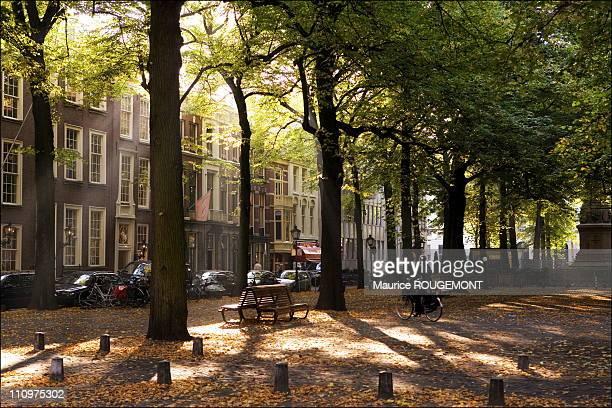 Lange Voorhout street in The Hague, Netherlands in October, 2005.