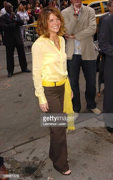 AJ Langer during ABC 2004/2005 Primetime Upfront Arrivals at Cipriani's in New York City New York United States