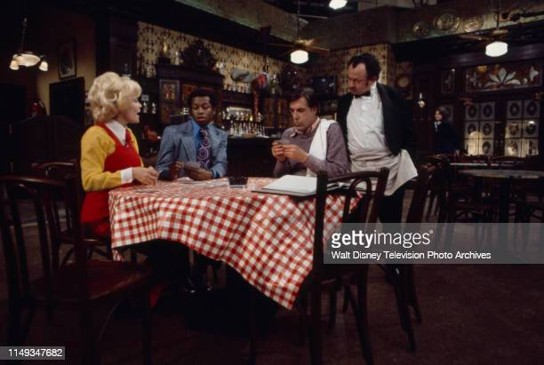 Langhorn Scruggs Joe Keyes Fred Gwynne Shimen Ruskin appearing in the ABC tv series 'The Corner Bar'