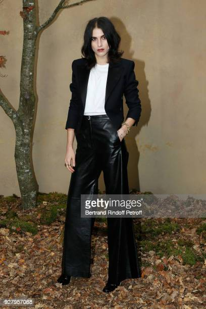 Langley Fox Hemingway attends the Chanel show as part of the Paris Fashion Week Womenswear Fall/Winter 2018/2019 on March 6 2018 in Paris France