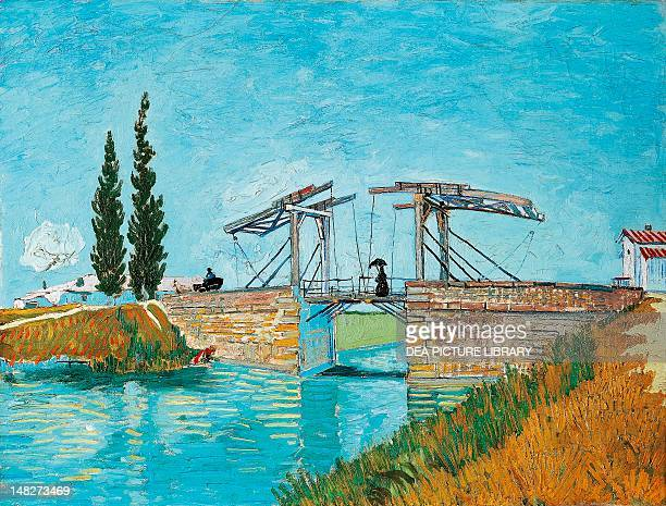 Langlois Bridge at Arles by Vincent van Gogh Cologne WallrafRichartzMuseum