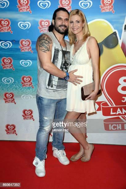 Langnese feiert seinen 80 Geburtstag mit einer Grossen StrandParty Marc Terenzi mit Freundin Myriel Brechtel im 5Monat schwanger Marc Eric Terenzi...