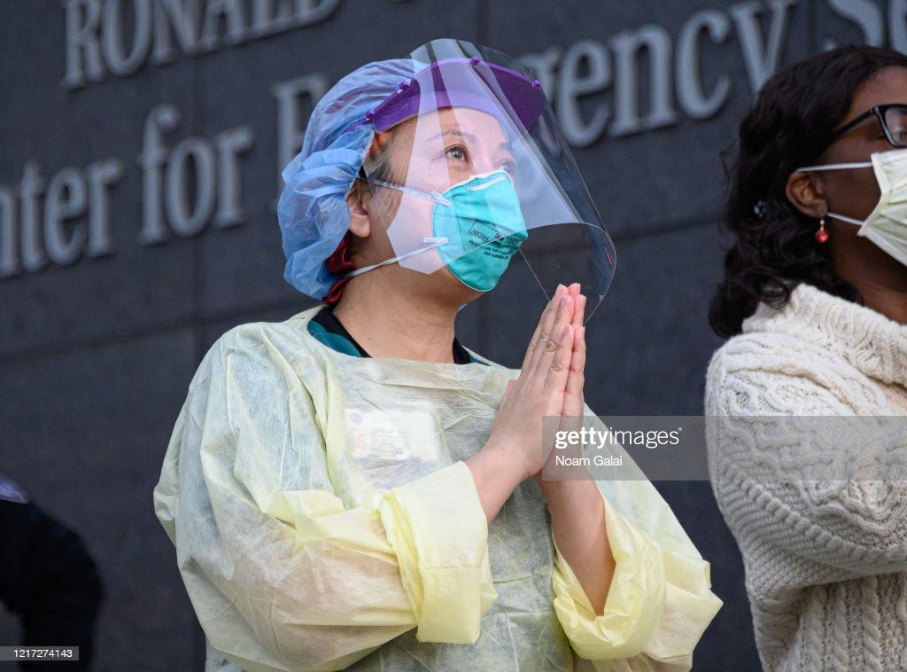 Major Cities In The U.S. Adjust To Restrictive Coronavirus Measures : News Photo