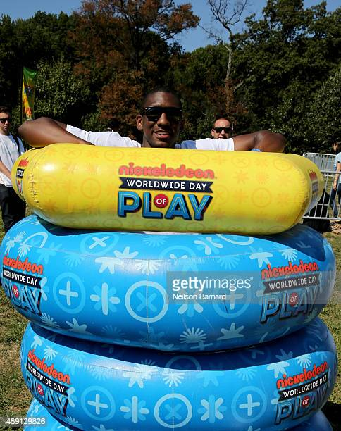 Langston Galloway attends Nickelodeon's 12th Annual Worldwide Day of Play at Prospect Park on September 19 2015 in New York City