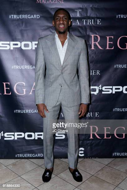 Choice Skinner attends Regard Magazine 2018 NBA AllStar PreParty hosted by Derek Fisher at Soho House on February 15 2018 in West Hollywood California