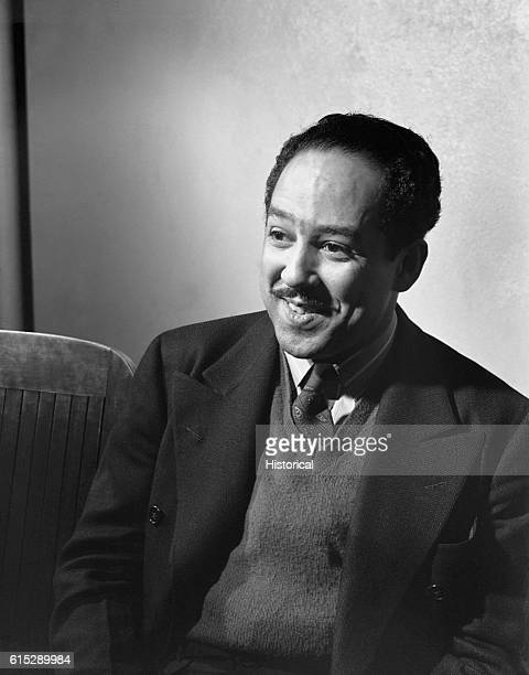 Langston Hughes, circa 1942.
