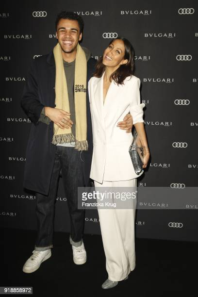 Langston Uibel and Rabea Schif during the Bulgari 'RVLE YOUR NIGHT' event during the 68th Berlinale International Film Festival on February 15 2018...