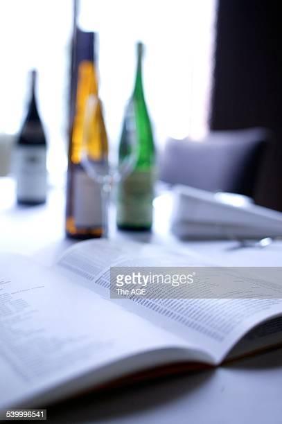 Langton's Restaurant Wine Bar Sargood House 61 Flinders Lane Melbourne Recognised for 'Best Wine List' in the Uncorked Wine Bar Awards Image shows...