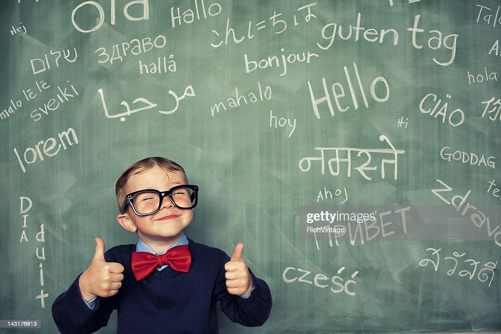 Language Master : Stock Photo