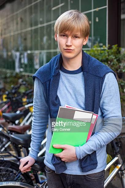 language student from europe - 長袖 ストックフォトと画像