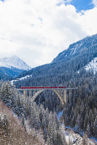 Langwies Viaduct, Grisons