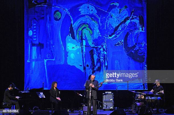 Lani Hall and Herb Alpert performs at Bergen Performing Arts Center on March 25 2015 in Englewood New Jersey