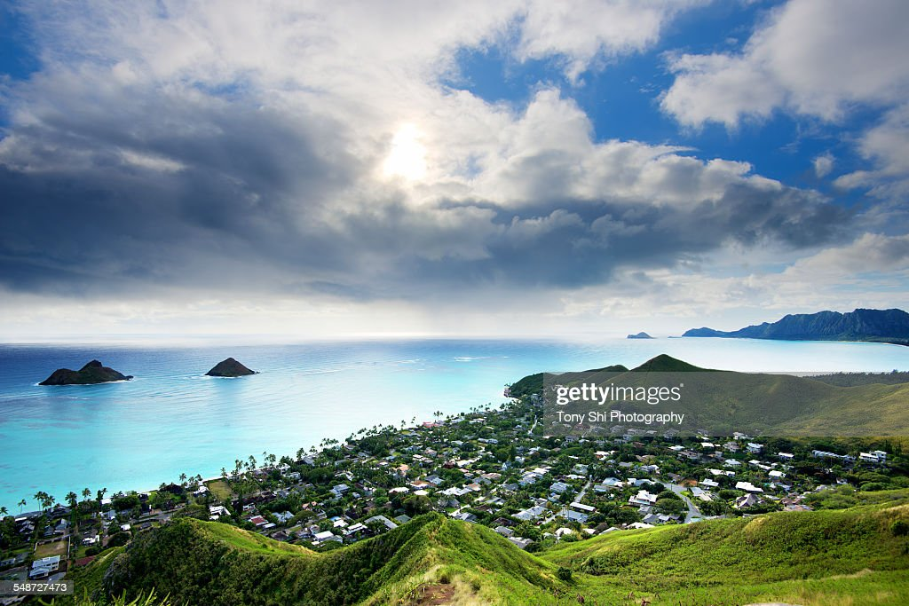 Lanikai Beach, Oahu Island, Hawaii : Stock Photo
