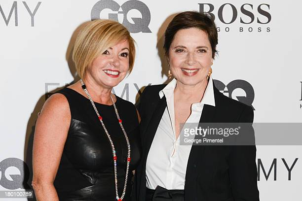 Lanita Layton managing director of HUGO BOSS Canada and actress Isabella Rosellini attend the Hugo Boss PartyÊduring the 2013 Toronto International...