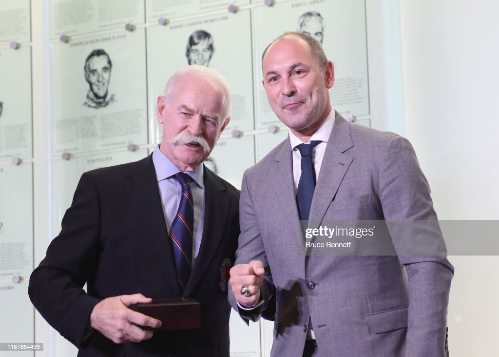 2019 Hockey Hall Of Fame Induction - Press Conference : News Photo
