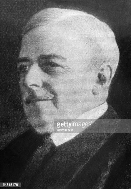 Lansing Robert Politiker USA *1710186430101928 Aussenminister der USA von 1915 bis 1920 Portrait Aufnahme Walter Gircke Originalaufnahme im Archiv...