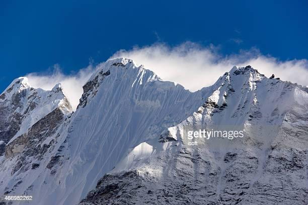 Lantang. Everest circuito. Nepal motivos