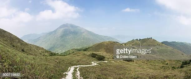 Lantau trail in Hong Kong