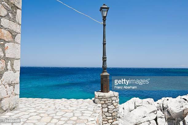 Lantern at sea