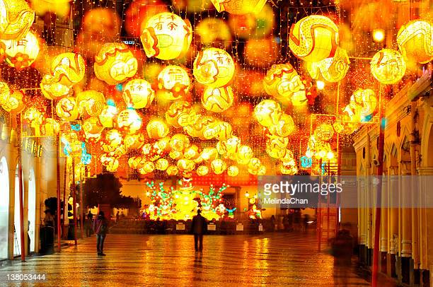 Lantern decoration for Chinese New year