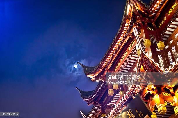 lantern festival - pagode stock-fotos und bilder