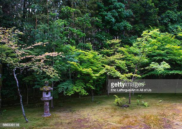 Lantern in kotoin zen buddhist temple in daitokuji kansai region kyoto Japan on May 26 2016 in Kyoto Japan