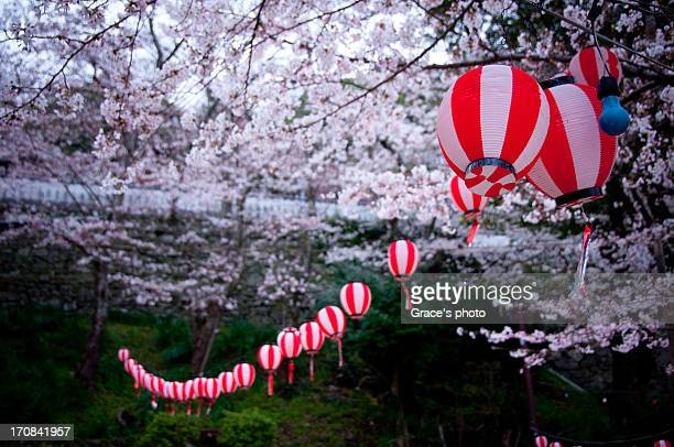 lantern - präfektur wakayama stock-fotos und bilder