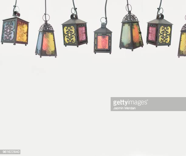 lanterns for ramadan - ramadan stock pictures, royalty-free photos & images
