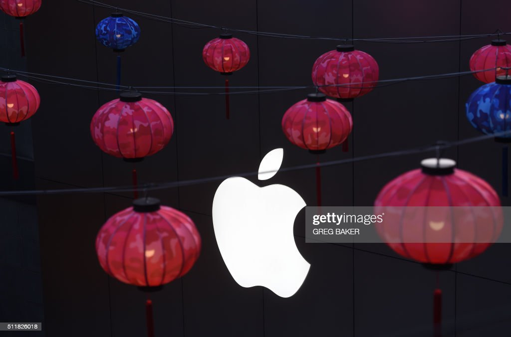 CHINA-US-ECONOMY-ONLINE-APPLE : News Photo