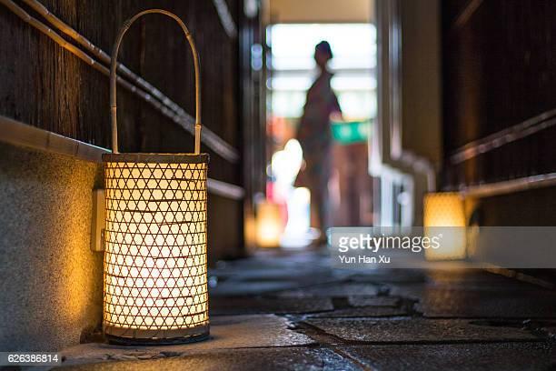 Lanterns in a Dark Alley