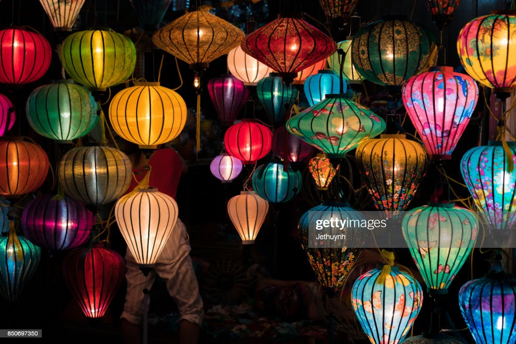Lanterns in Hoi An city, Vietnam : Stock Photo