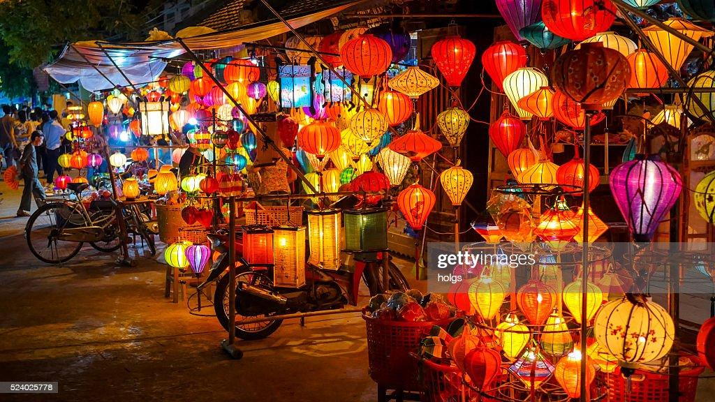 Lanterns in Hoi An, Vietnam : Stock Photo