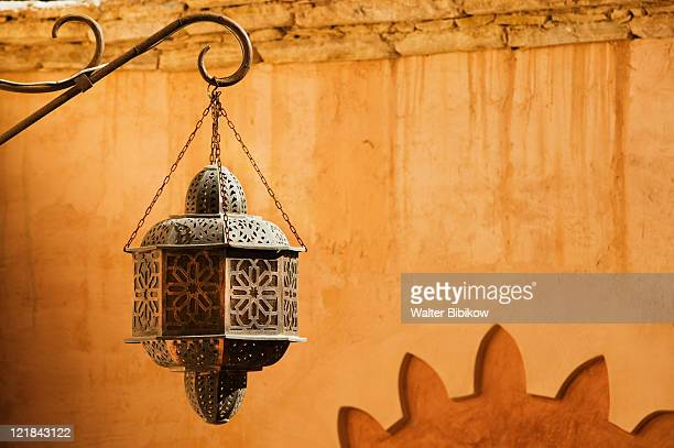 lanterns, the medina of agadir, agadir, atlantic coast, morocco - agadir stock pictures, royalty-free photos & images
