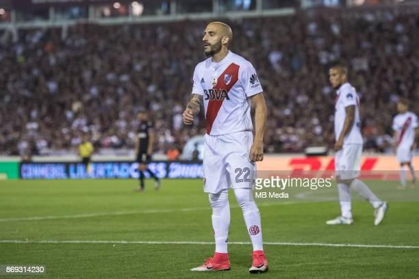 OCTOBER 31 Lanus Santiago Zurbriggen during the Copa Libertadores semi finals 2nd leg match between Lanus and River Plate at Estadio Ciudad de Lanús...