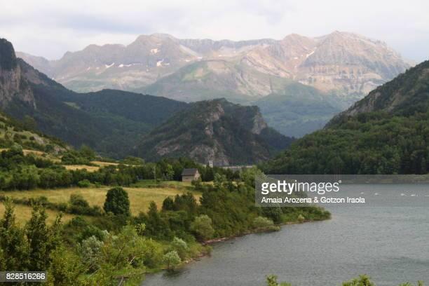 Lanuza lake in Sallent de Gallego, Huesca province, Spain