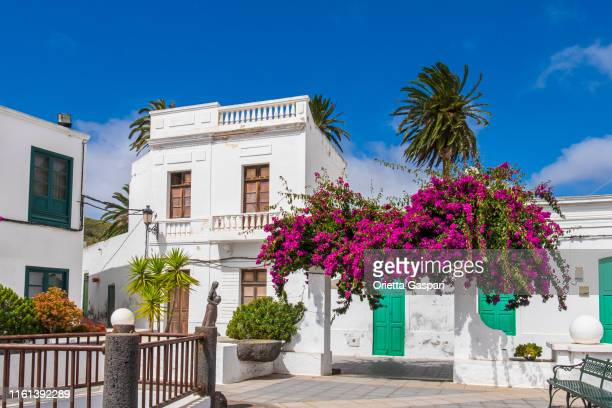 lanzarote, canary islands - haria - atlantic islands stock pictures, royalty-free photos & images