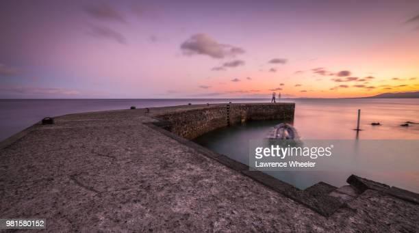 lanzarote sunset - marina wheeler foto e immagini stock