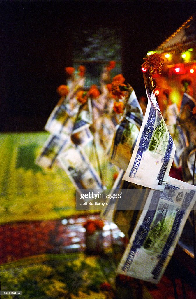Lao Buddhist Funeral #06 : Bildbanksbilder