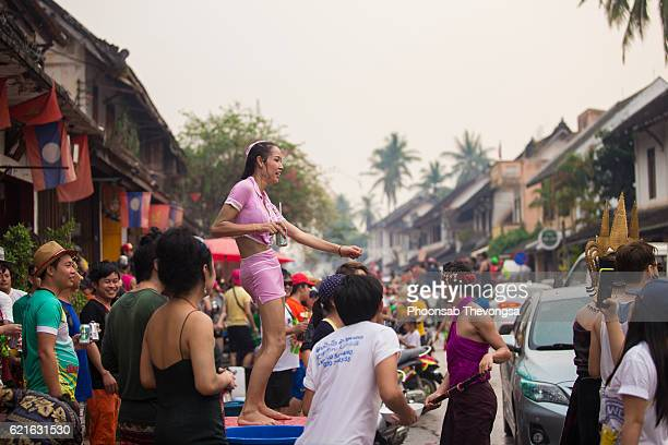 Lao New Year, Luang Prabang