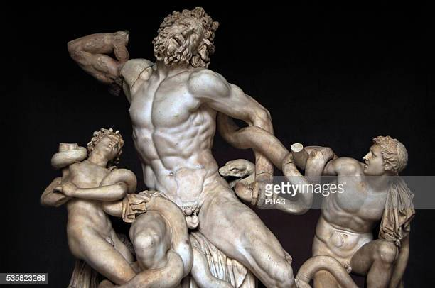 Laocoon and His Sons by Agesander Athenodoros and Polydorus 25 BC Sculpture on marble Vatican Museums Vatican City