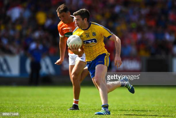 Laois Ireland 7 July 2018 Cathal Cregg of Roscommon during the GAA Football AllIreland Senior Championship Round 4 match between Roscommon and Armagh...