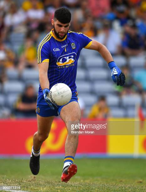 Laois Ireland 7 July 2018 Colm Lavin of Roscommon during the GAA Football AllIreland Senior Championship Round 4 match between Roscommon and Armagh...