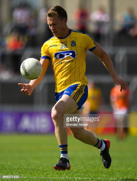 Laois Ireland 7 July 2018 Niall Daly of Roscommon during the GAA Football AllIreland Senior Championship Round 4 match between Roscommon and Armagh...